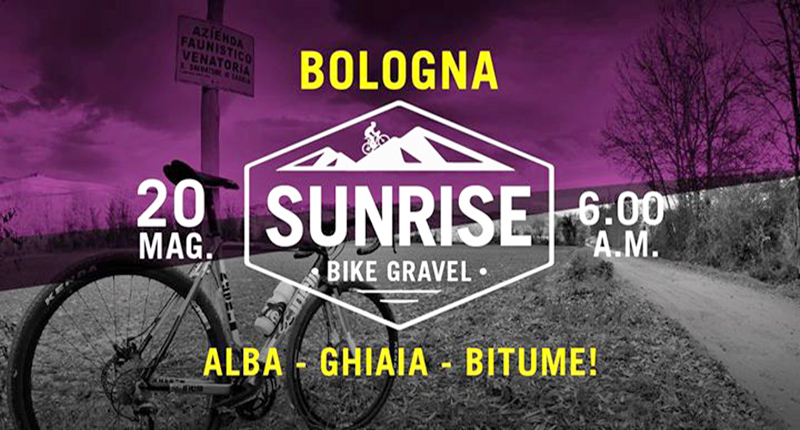 Sunrise Bike Gravel Locandina