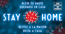 Stay Home Slogan